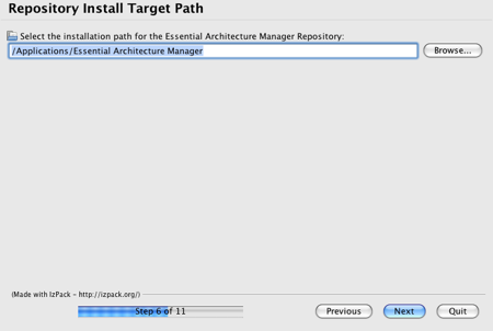 Essential Installer Repository Panel